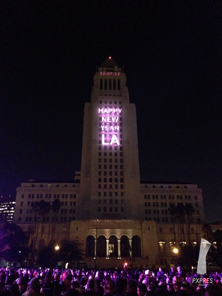 N.Y.E.L.A at grand park Los Angeles