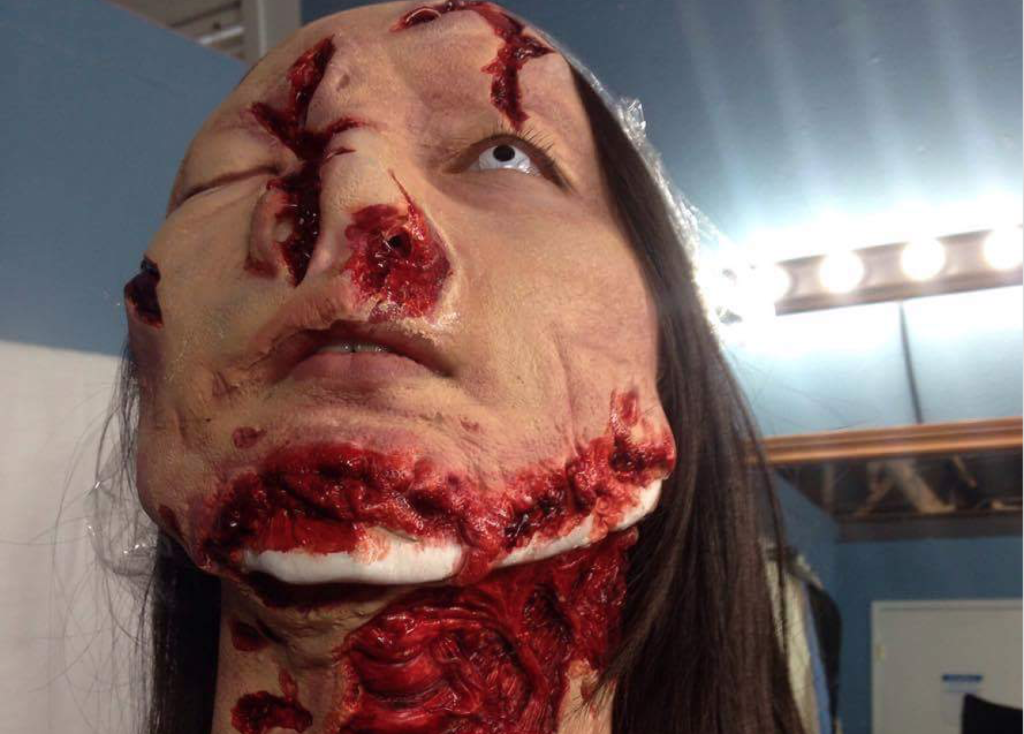Hollywood horror special make up