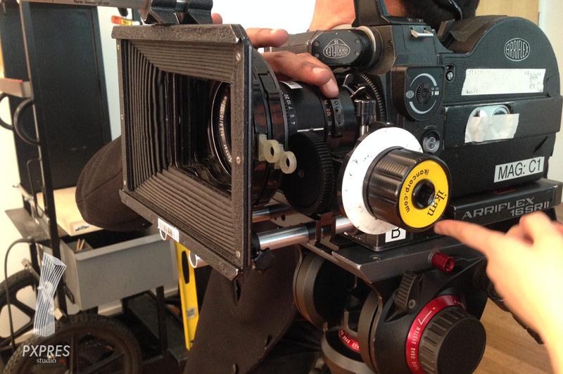 フィルムのカメラです
